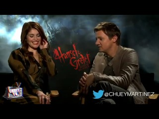 Hansel and Gretel Exclusive Gemma Arterton Jeremy Renner Famke Janssen via Chuey Martinez